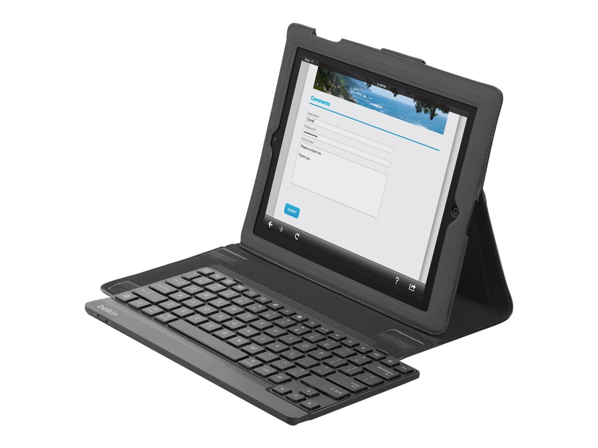 Belkin YourType Keyboard Folio for iPad iPad 2, B2B024-C00