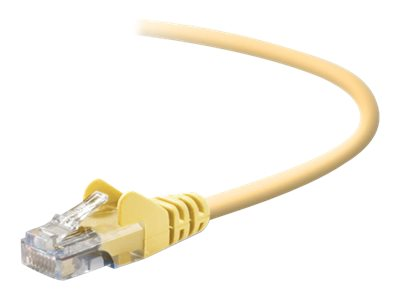 Belkin Cat5e Patch Cable, Yellow, 20ft, Snagless, A3L791-20-YLW-S