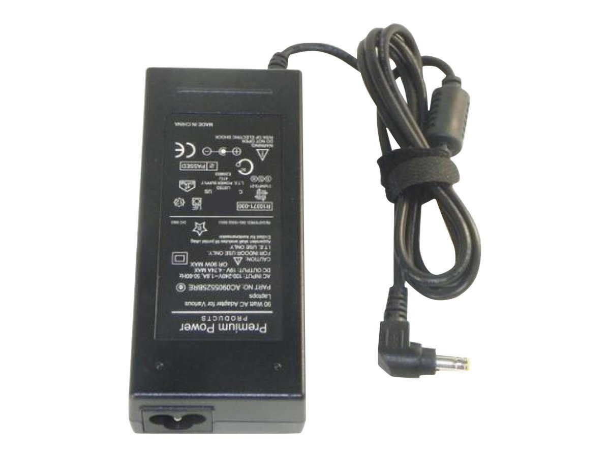 Ereplacements AC Adapter, 19V, 4.74A, 90 Watts for Asus Laptops, AC0905525BRE-ER, 12771988, AC Power Adapters (external)