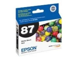 Epson Matte Black UltraChrome Hi-Gloss 2-Ink Cartridge for Stylus Photo R1900 Printers, T087820, 8318048, Ink Cartridges & Ink Refill Kits