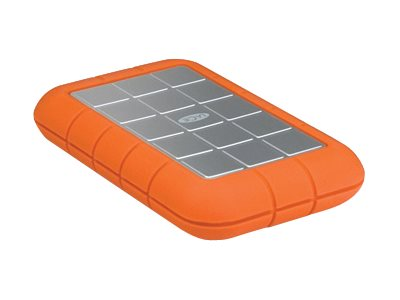 Lacie 2TB Rugged Triple USB 3.0 FireWire 800 Portable Hard Drive, 9000448, 16946677, Hard Drives - External