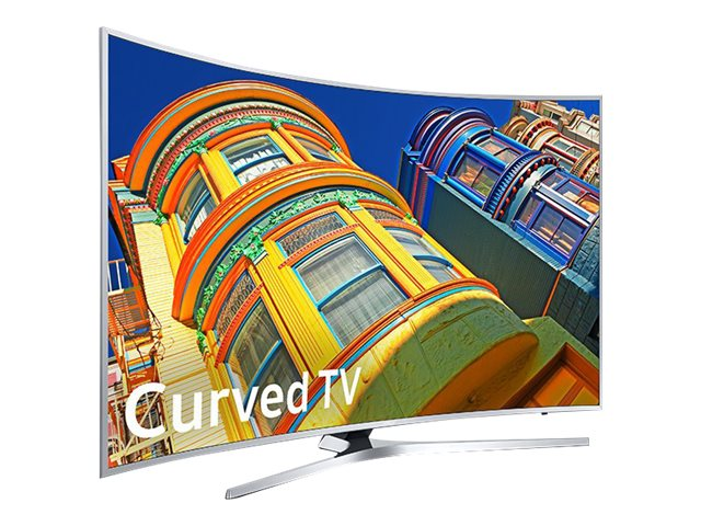 Samsung 55 KU6500 4K Ultra HD LED-LCD Curved TV, Black, UN55KU6500FXZA