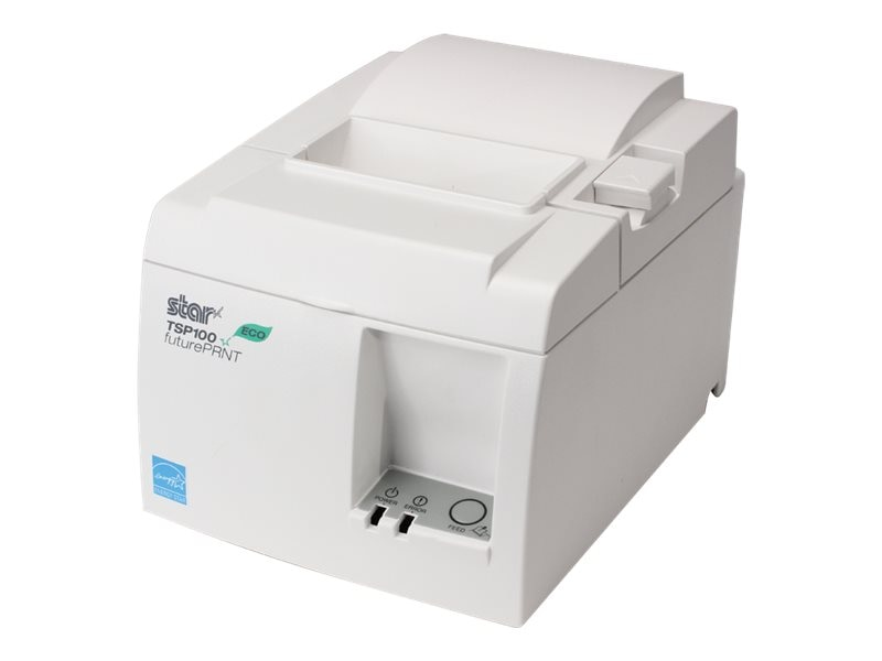 Star Micronics TSP143IIU Eco USB Thermal Printer - Putty w  Cutter, Power Supply & Cables