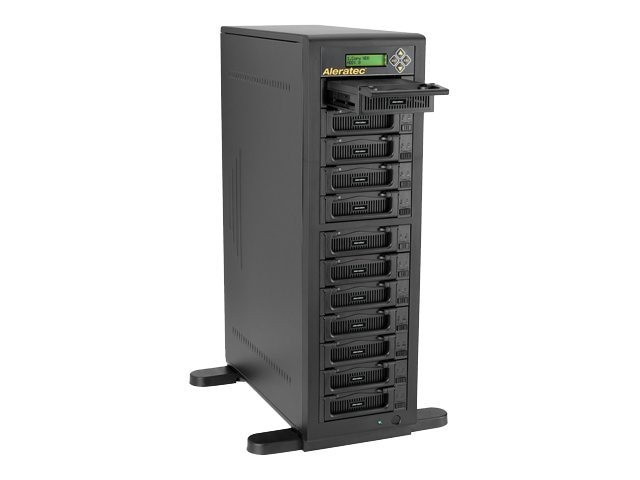 Aleratec 1:11 HDD Copy Cruiser IDE SATA - 11 HDD Duplicator & 12 HDD Sanitizer, 350124