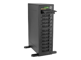 Aleratec 1:11 HDD Copy Cruiser IDE SATA - 11 HDD Duplicator & 12 HDD Sanitizer, 350124, 14730101, Hard Drive Duplicators