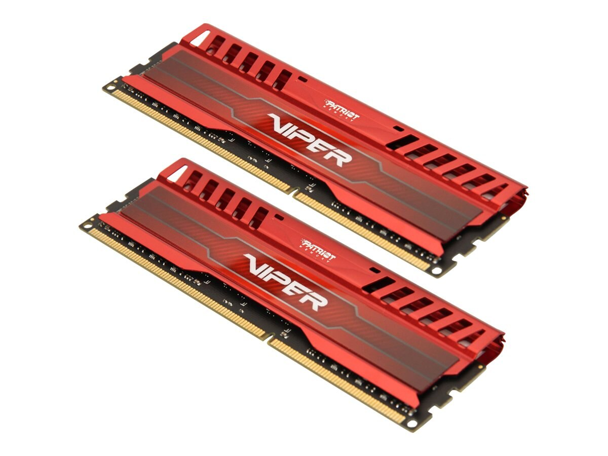 Patriot Memory 16GB PC3-19200 240-pin DDR3 SDRAM UDIMM Kit, PV316G240C0KRD, 18511044, Memory