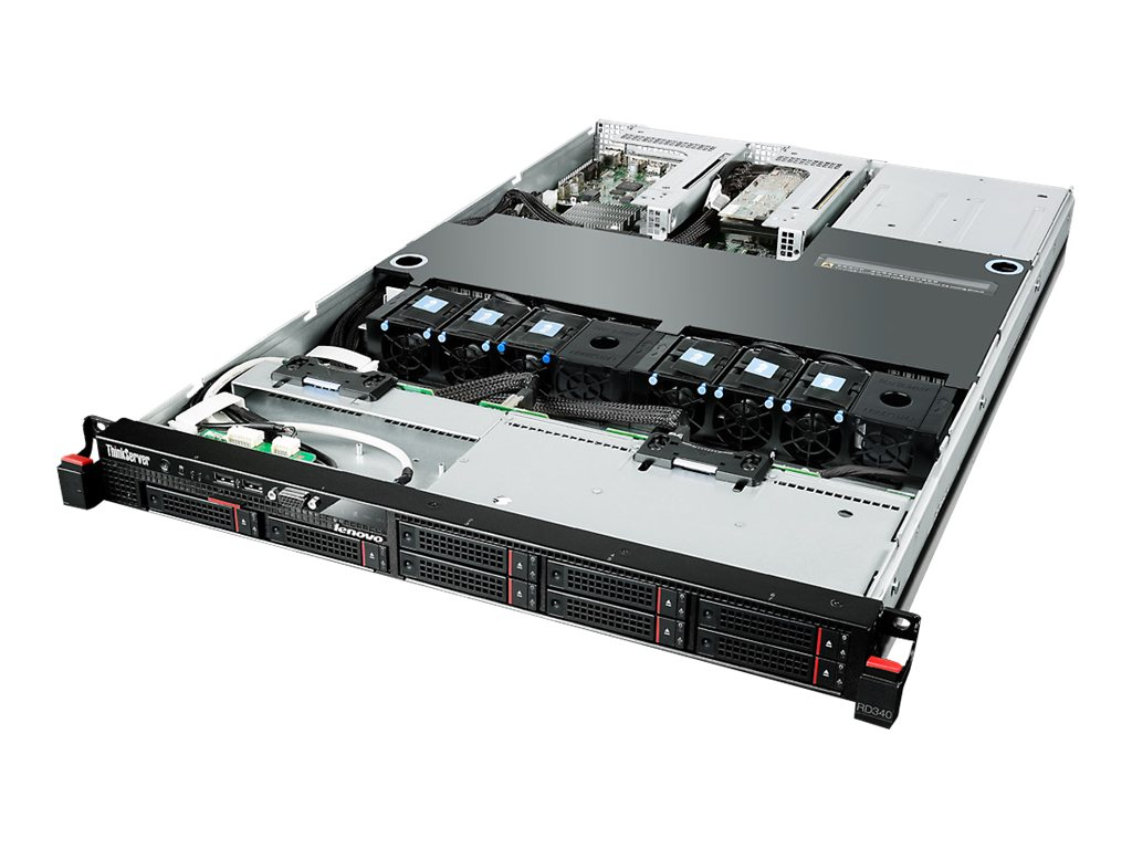 Lenovo TopSeller ThinkServer RD340 Intel 2.2GHz Xeon, 70AD0000US, 16753091, Servers