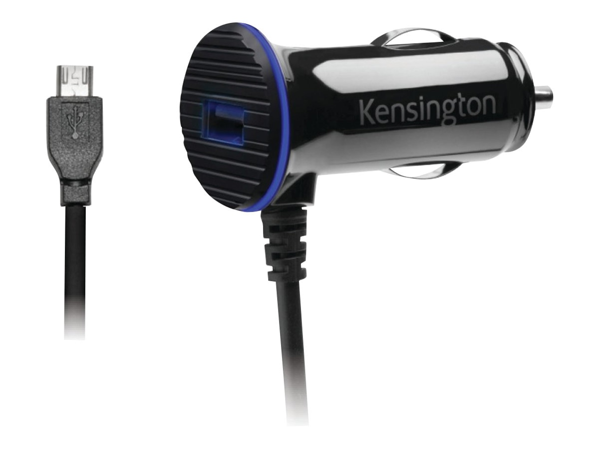 Kensington PowerBolt 3.4 Fast Charge Car Charger, K38119WW