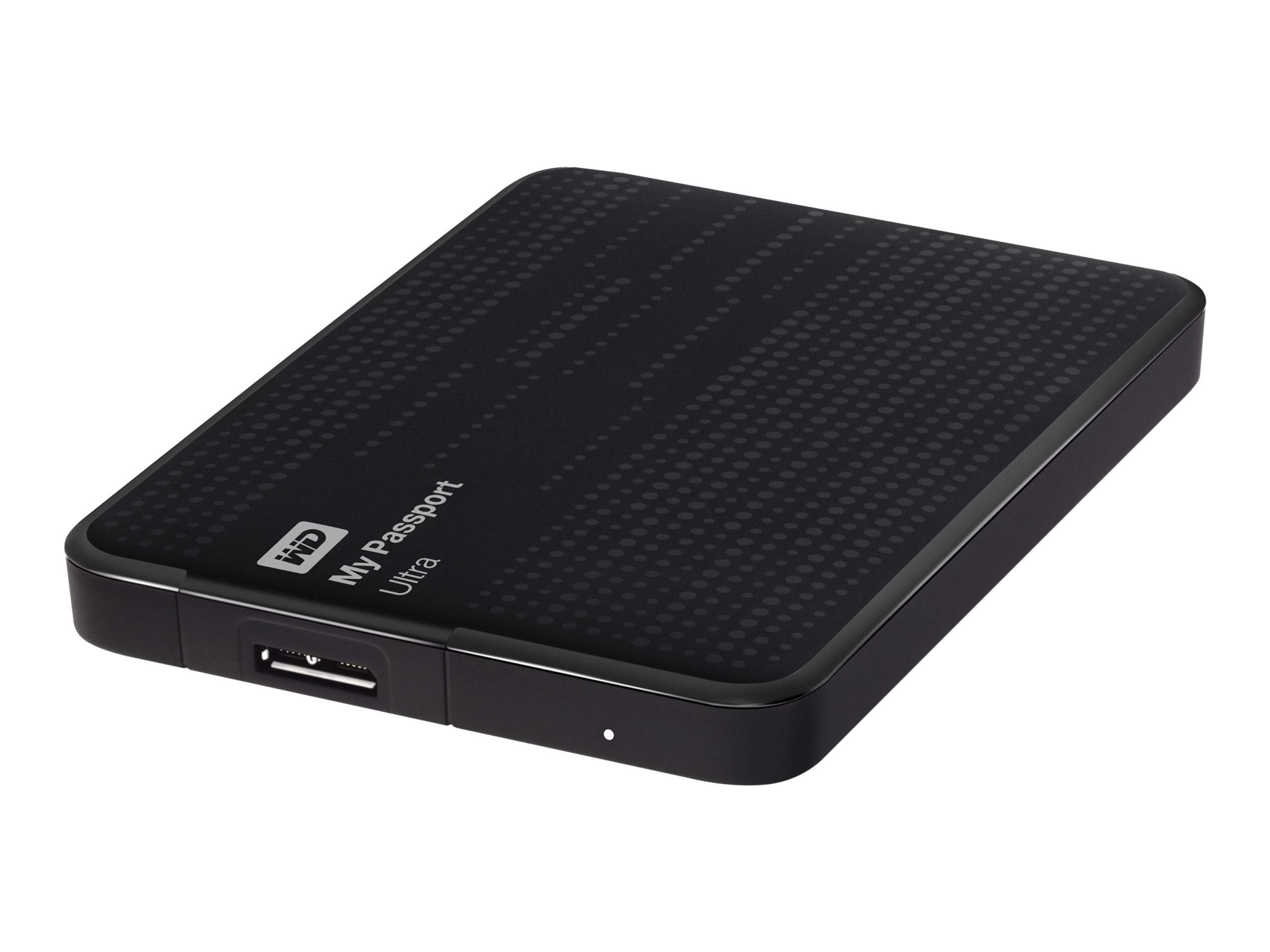 WD 1TB My Passport Ultra USB 3.0 Portable Hard Drive - Black, WDBZFP0010BBK-NESN