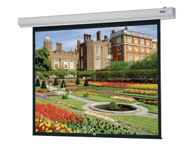 Da-Lite Designer Contour Electrol Projection Screen with IR Remote, Matte White, HDTV, 106, 89758W, 8110888, Projector Screens