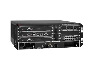 Brocade ServerIron ADX 4000 Chassis+1 SI-MM-2+1, SI-4000-ASM8-P-B-2, 15196721, Network Switches