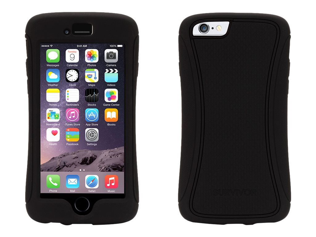 Griffin Survivor Slim iPhone 6 4.7, Black