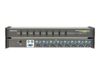 IOGEAR 8-port MiniView Ultra KVM Switch, Special Buy - Save $10, GCS138, 235978, KVM Switches
