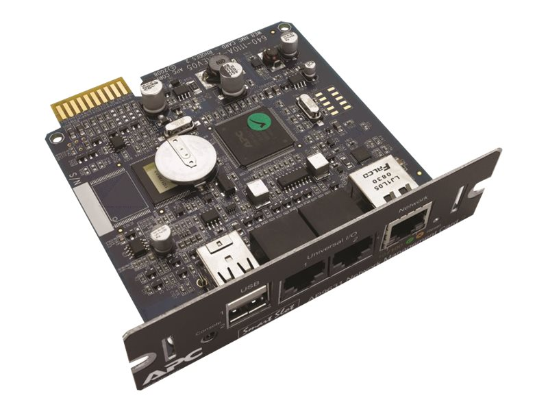 APC UPS Network Management Card 2 with Environmental Monitoring, AP9631, 9681720, Battery Backup Accessories