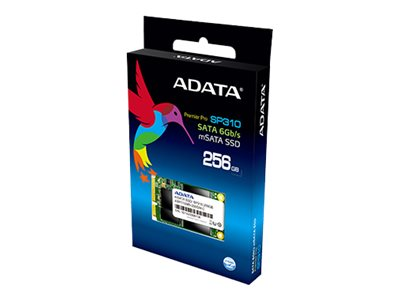 A-Data 256GB Permier Pro SP310 mSATA Internal Solid State Drive