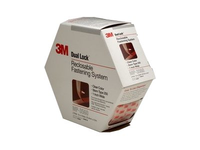 3M 1in. x 4.9yd. Dual Lock Clear Reclosable Fasteners