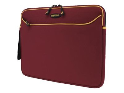Mobile Edge Red Gold Neoprene Sleeve-15.4, MESS7G-15, 7305430, Carrying Cases - Notebook