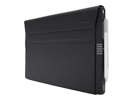 Targus 2-in-1 Folio Wrap+ Case for MS Surface Pro 4, Black Gray, THZ618GL, 31212153, Carrying Cases - Tablets & eReaders