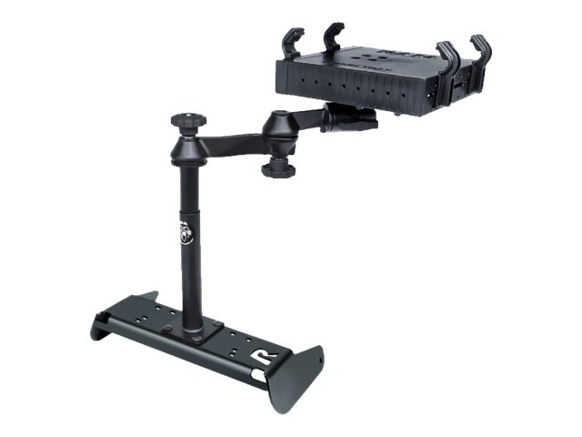 Ram Mounts No-Drill Laptop Mount for Chevrolet Silverado 1500 Work Truck with 40 20 40 Bench Seat Only