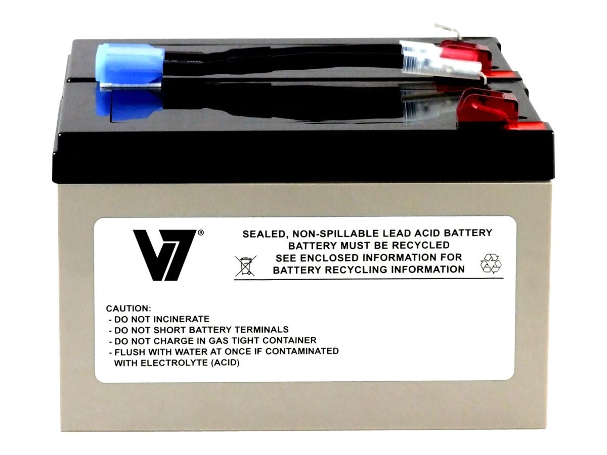V7 Replacement UPS Battery for APC # RBC6