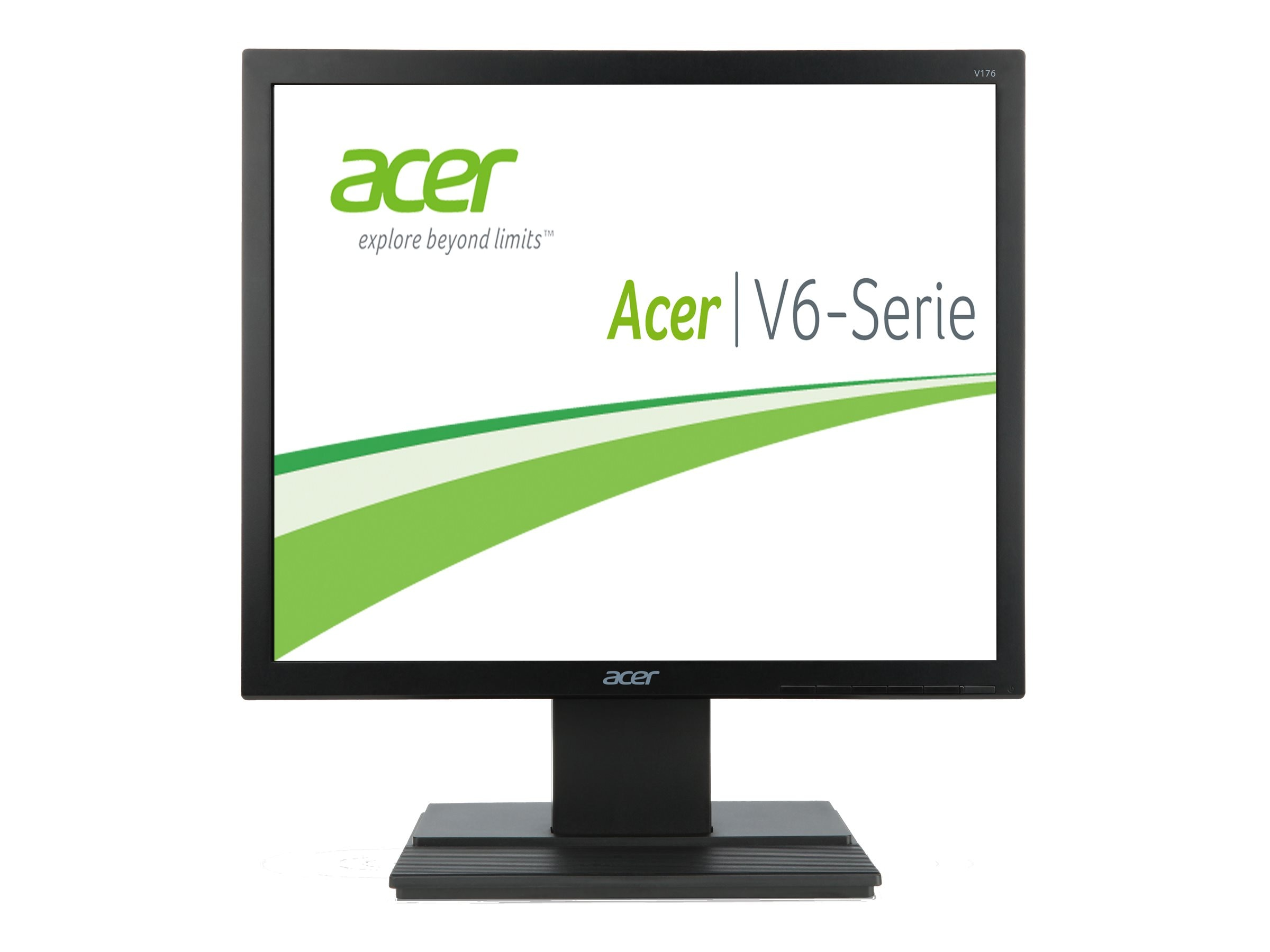 Acer 17 V176L b LED-LCD Monitor, Black