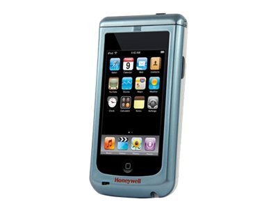 Honeywell Sled for iPod Touch 4G HD Imager Green LED Aimer Battery USB Cable Charger Disinfectant Rdy Cyan Wht
