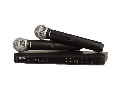 Shure BLX288 PG58=-J10 Dual Vocal Sy, BLX288/PG58=J10, 31390769, Microphones & Accessories