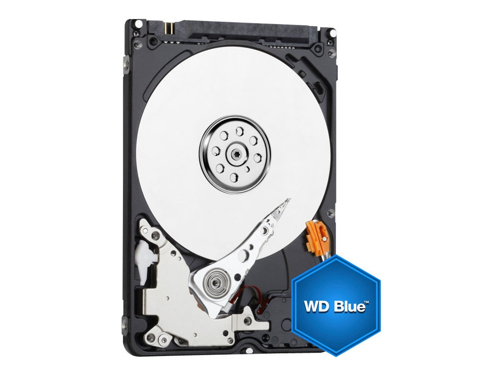 WD 750GB WD Blue SATA 6Gb s 2.5 Internal Hard Drive, WD7500BPVX, 15593638, Hard Drives - Internal
