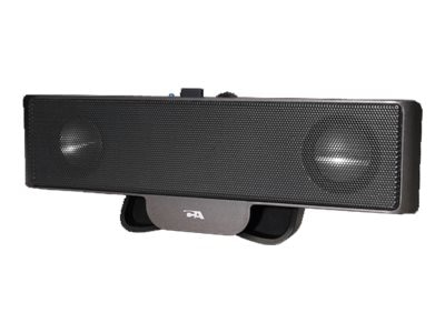 Cyber Acoustics USB Powered Portable Soundbar, CA-2880, 11442390, Speakers - Audio