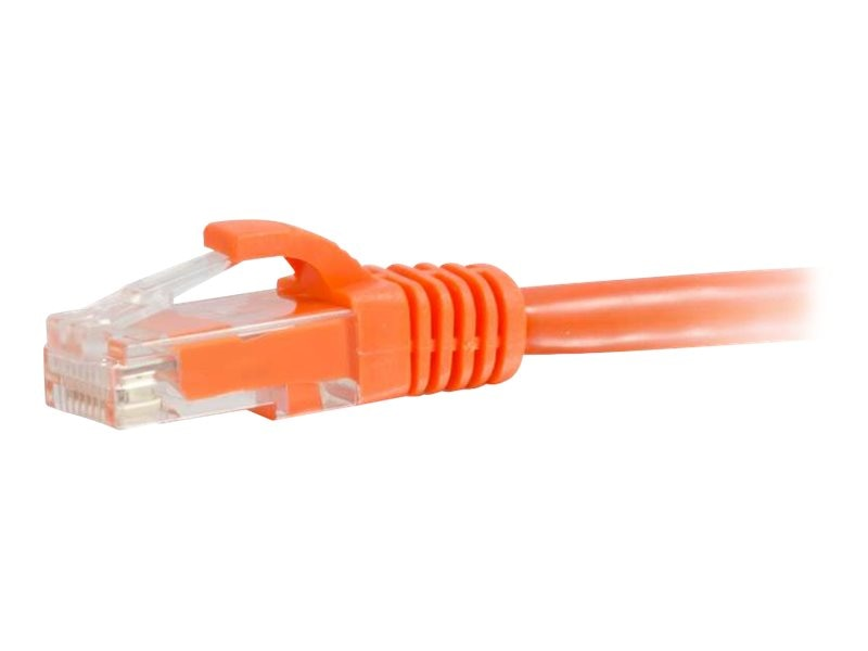 C2G Cat5e Snagless Unshielded (UTP) Network Patch Cable - Orange, 12ft