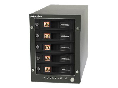 Addonics RT5 5X1 HPM-XU 5X Snap-In MR eSATA USB 3.0 Enclosure, RT55SNHXU3, 15917479, Hard Drive Enclosures - Multiple