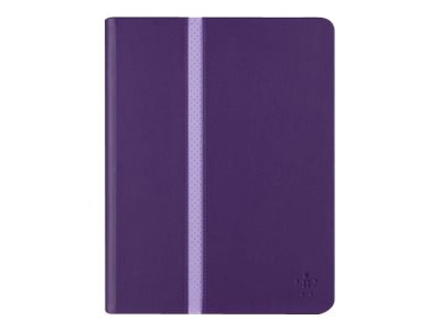 Belkin Stripe Cover for iPad Air 2 and iPad Air, Plum
