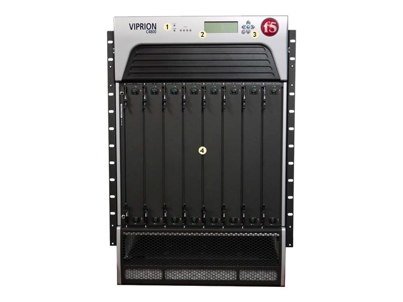 F5 Networking Carrier Grade NAT C4800 8-Slot Chassis AC Power, F5-VPR-CGN-C4800-AC