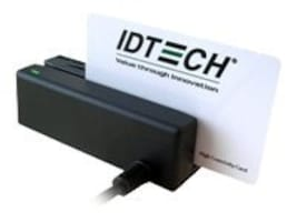 ID Tech MiniMag MSR, 3-track, USB HID, Black, IDMB-335133B, 12071121, Magnetic Stripe/MICR Readers