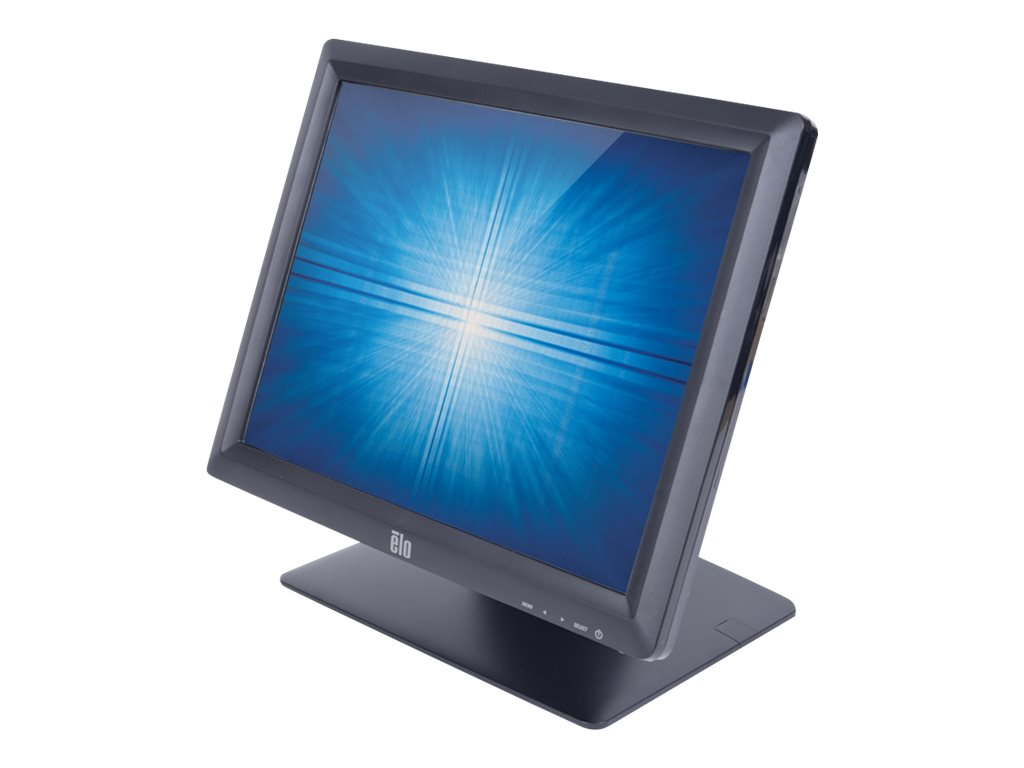 ELO Touch Solutions 15 1517L LED-LCD Touchscreen Monitor, Black, E953836