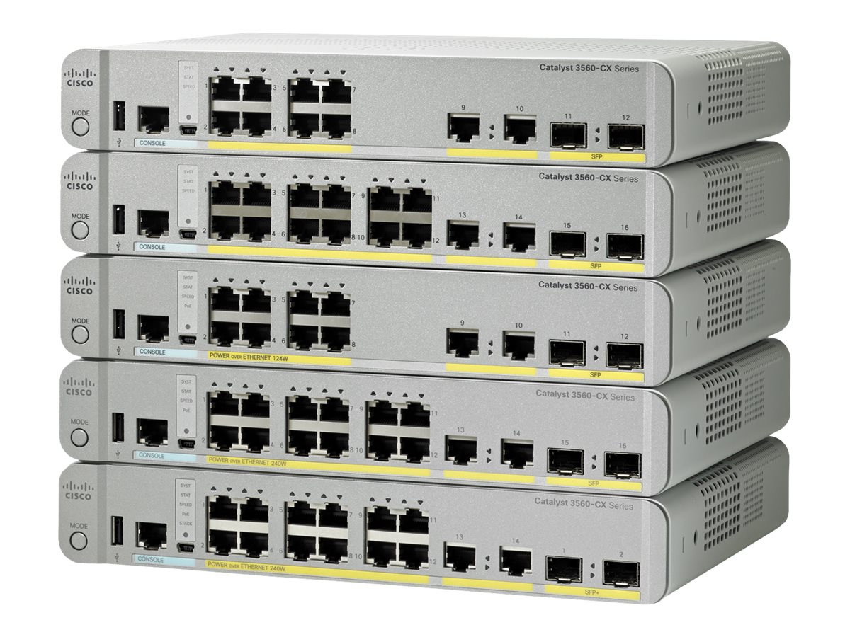 Cisco WS-C3560CX-12TC-S Image 1