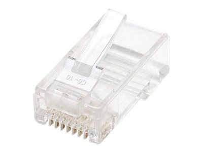 Intellinet Cat6 Modular Plugs, 3-Prong