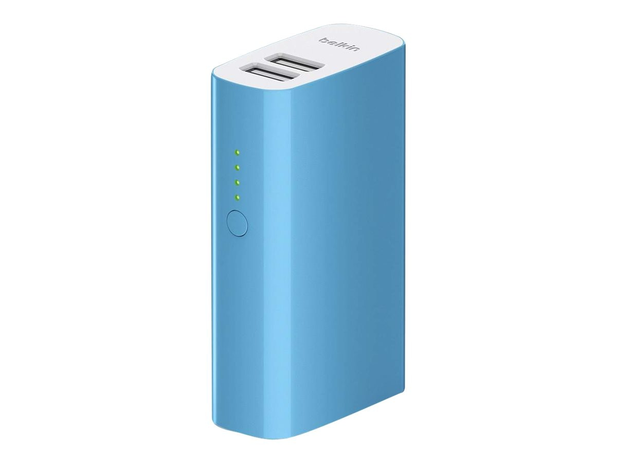 Belkin Mixit Up Power Pack 4000mAh, Blue, F8M979BTBLU, 31583974, Batteries - Other
