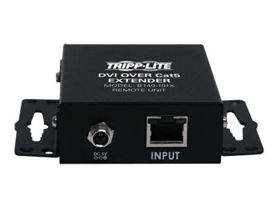 Tripp Lite DVI over Cat5 Cat6 Extender, Video Transmitter and Receiver, TAA, B140-101X