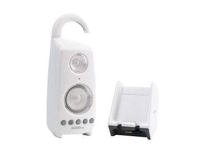 C2G AU Shower Speaker & Transmitter, White