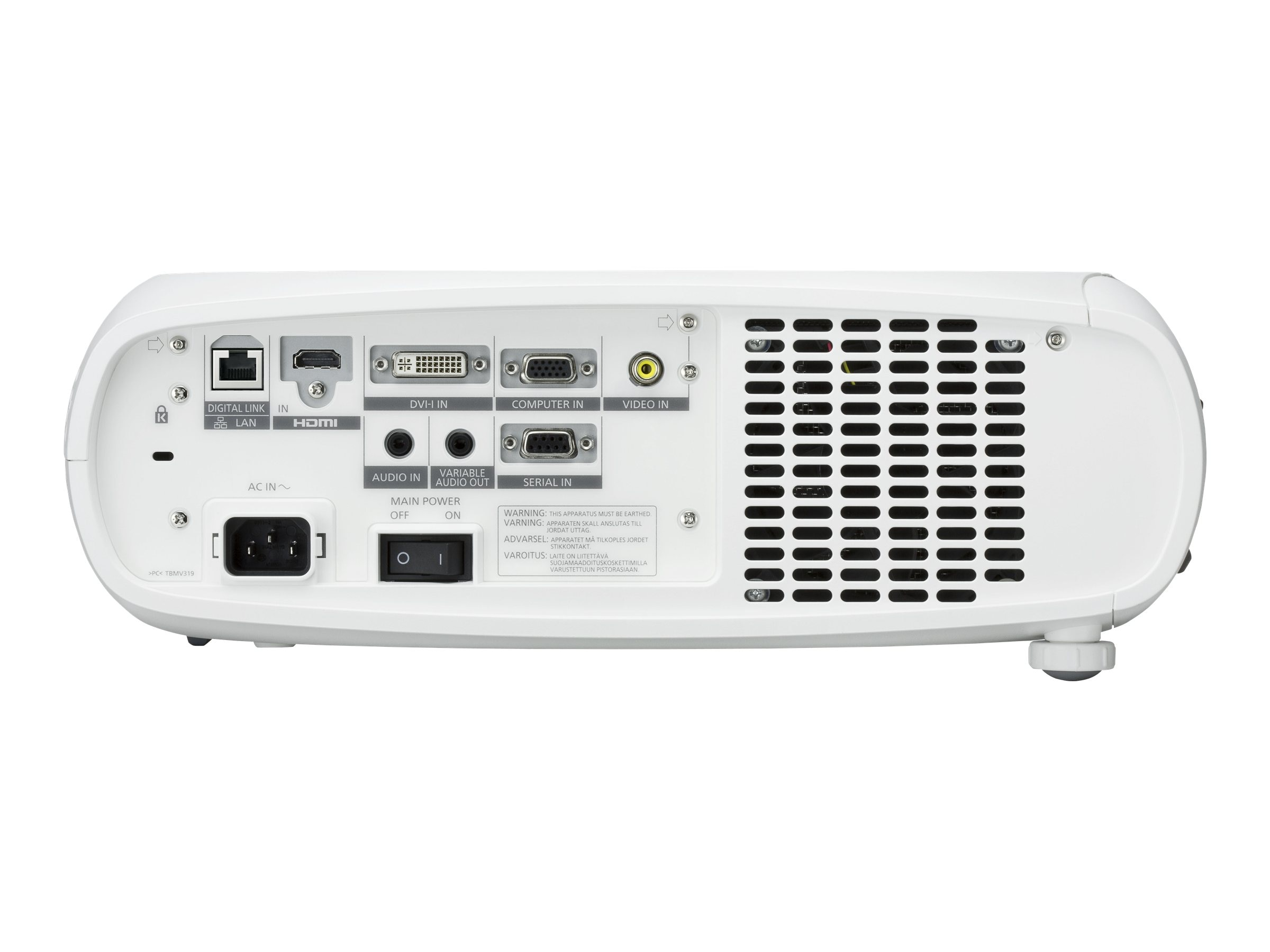 Panasonic PT-RW330U Fixed Installation Projector, PTRW330U