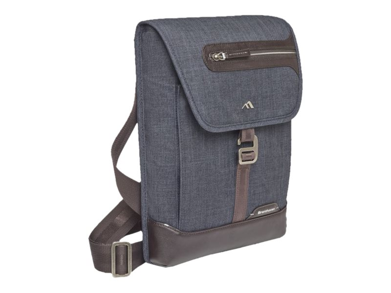 Brenthaven Collins Vertical Messenger Bag, 1956, 30788468, Carrying Cases - Notebook