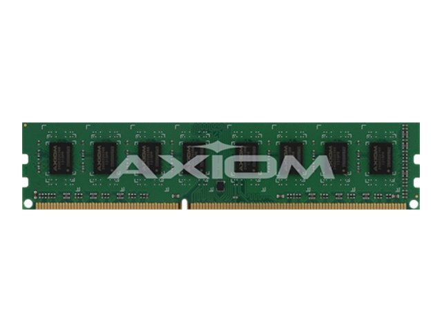 Axiom 8GB PC3-10600 240-pin DDR3 SDRAM UDIMM for Z9PE-D8 WS, AX31333E9Z/8G, 14311141, Memory