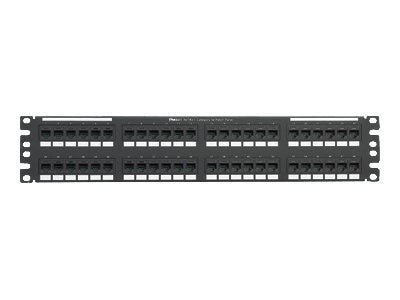 Panduit 48-port 2RU Cat5e Punchdown Patch Panel, NK5EPPG48Y