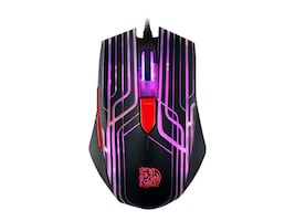 Thermaltake Talon Gaming Mouse, 3000dpi, 6-Color Cycling Effect Lighting System, MO-TLN-WDOOBK-01, 18511757, Mice & Cursor Control Devices