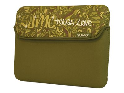 Mobile Edge Sumo Graffiti iPad Sleeve, Green, SUMO-IPADSG9, 11634615, Protective & Dust Covers