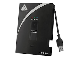 Apricorn 256GB Aegis Bio USB 3.0 External Solid State Drive - 256-bit AES Hardware Encrypted, A25-3BIO256-S256, 14835842, Solid State Drives - External