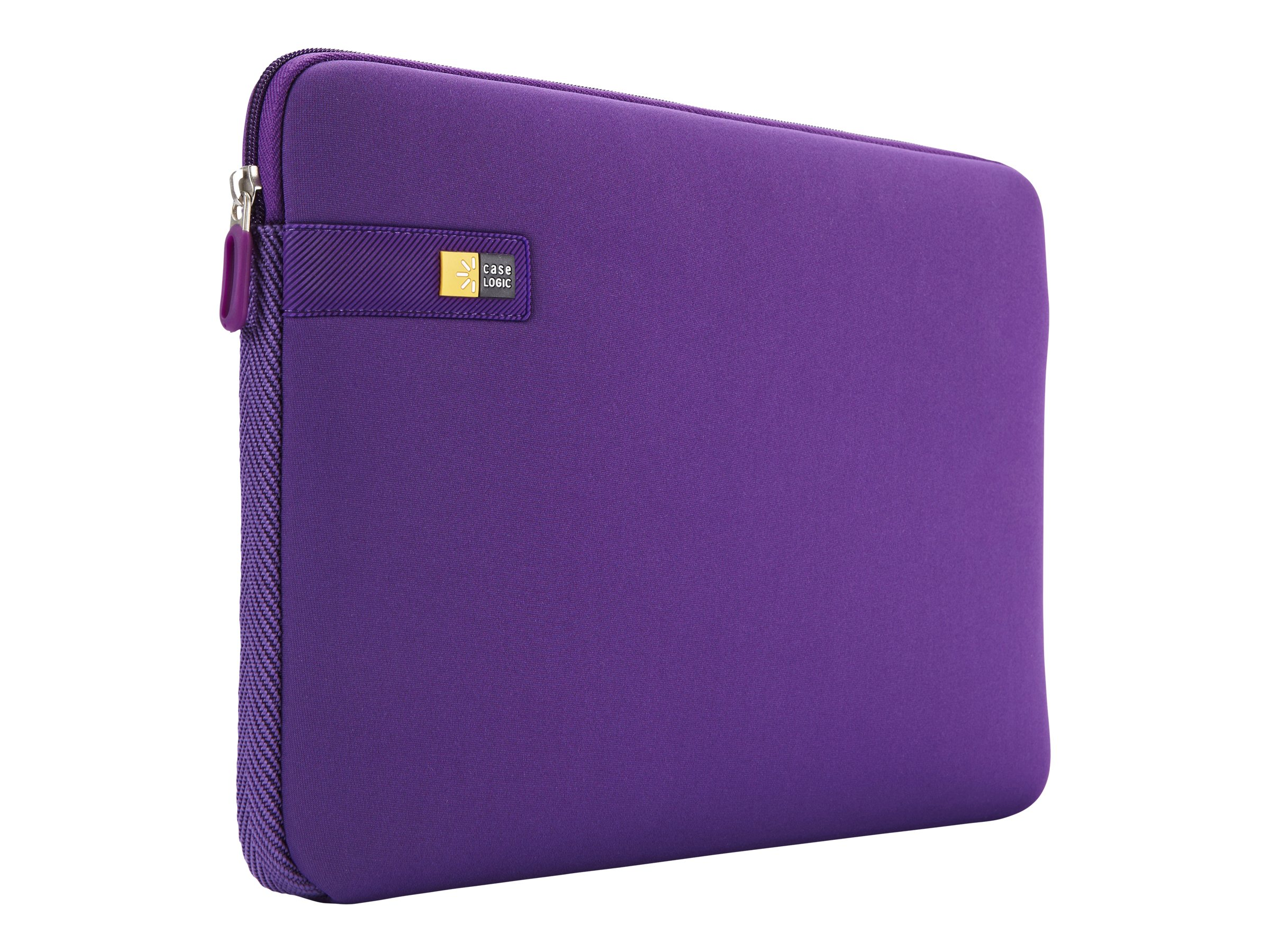 Case Logic 13.3 Laptop Sleeve, Purple, LAPS-113PURPLE, 15269361, Carrying Cases - Notebook