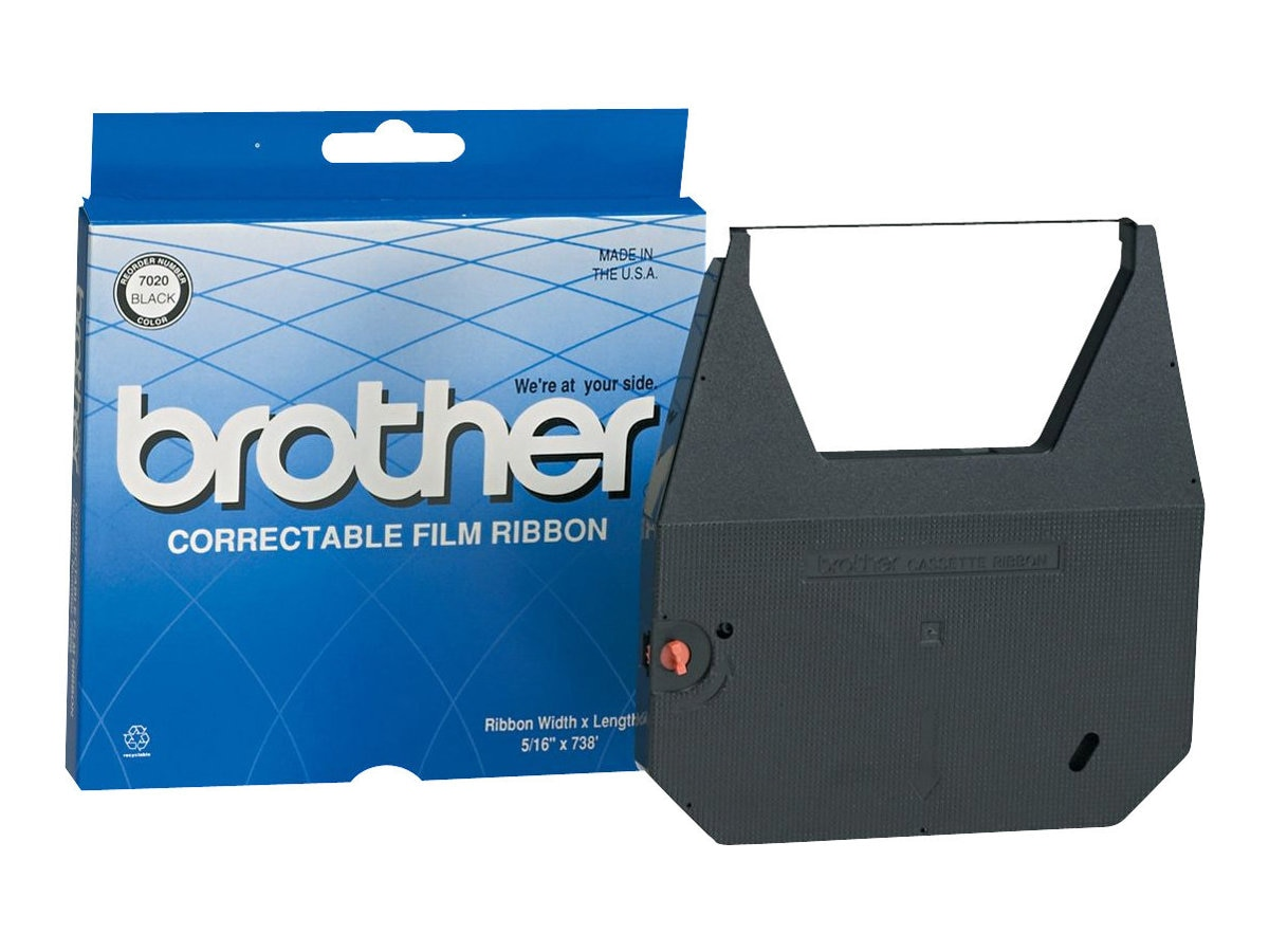 Brother Black Carbon Print Ribbon for Brother CE, CX, EM & WP Series Typewriters