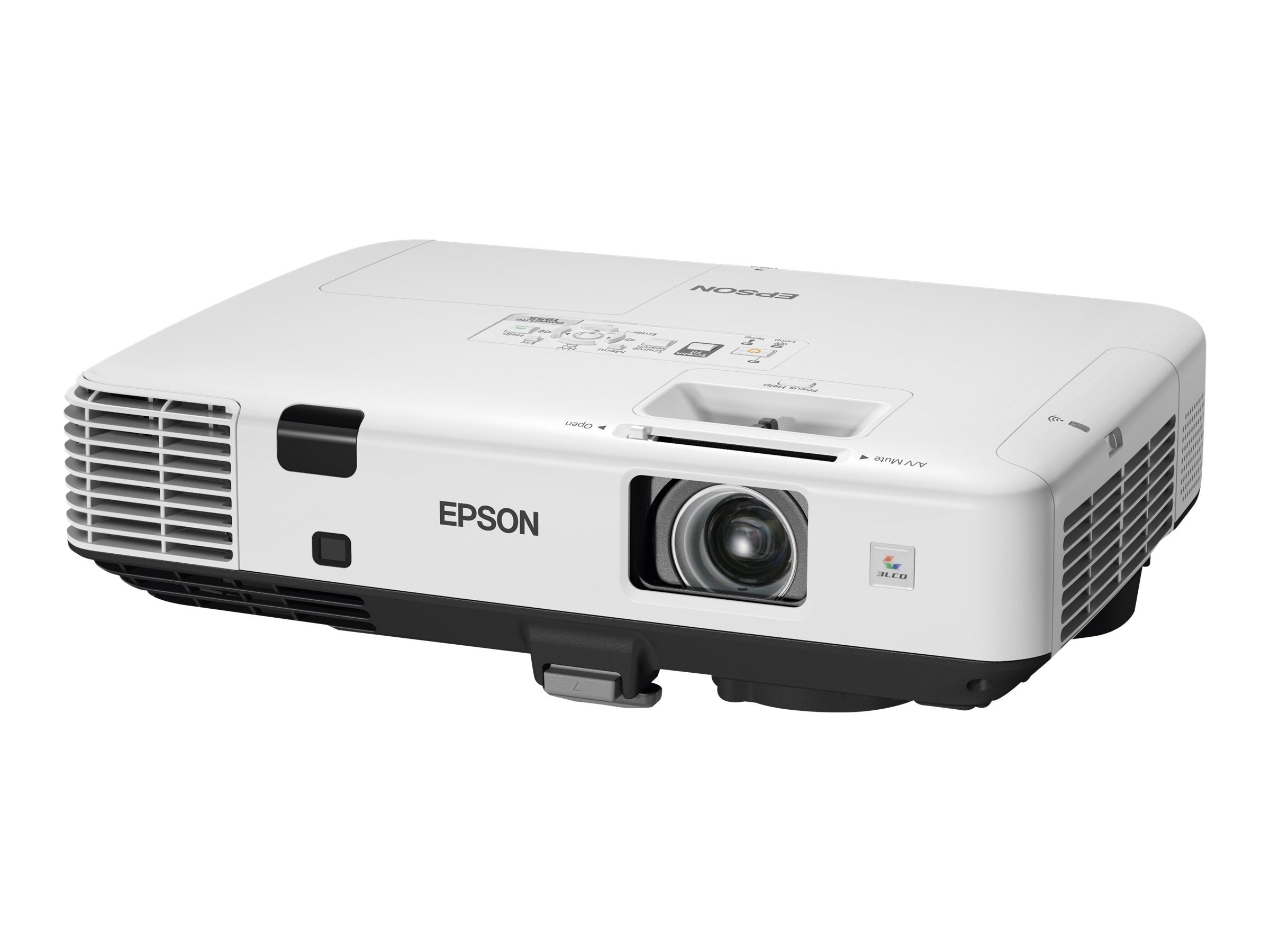Epson Powerlite 1955 XGA 3LCD Projector, 4500 Lumens, White, V11H490020, 13881708, Projectors